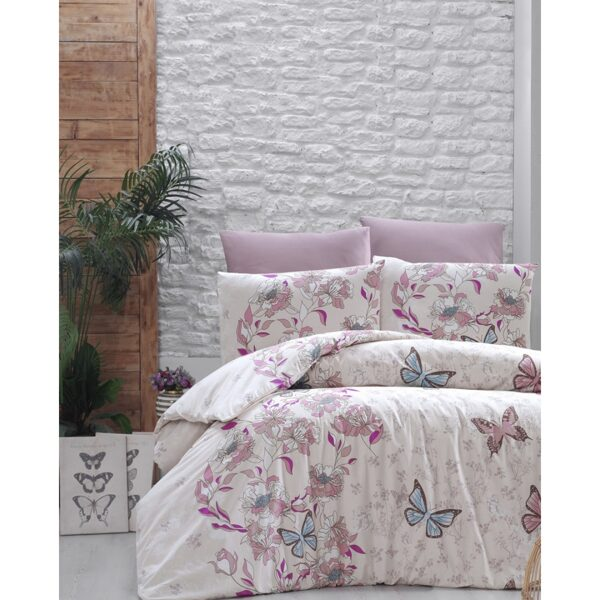 "EURO BEDDING SET ""DIAMOND HOME"" butterfly 200*220"